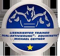 Trainerin nach Michael Geitner - offizielles Siegel